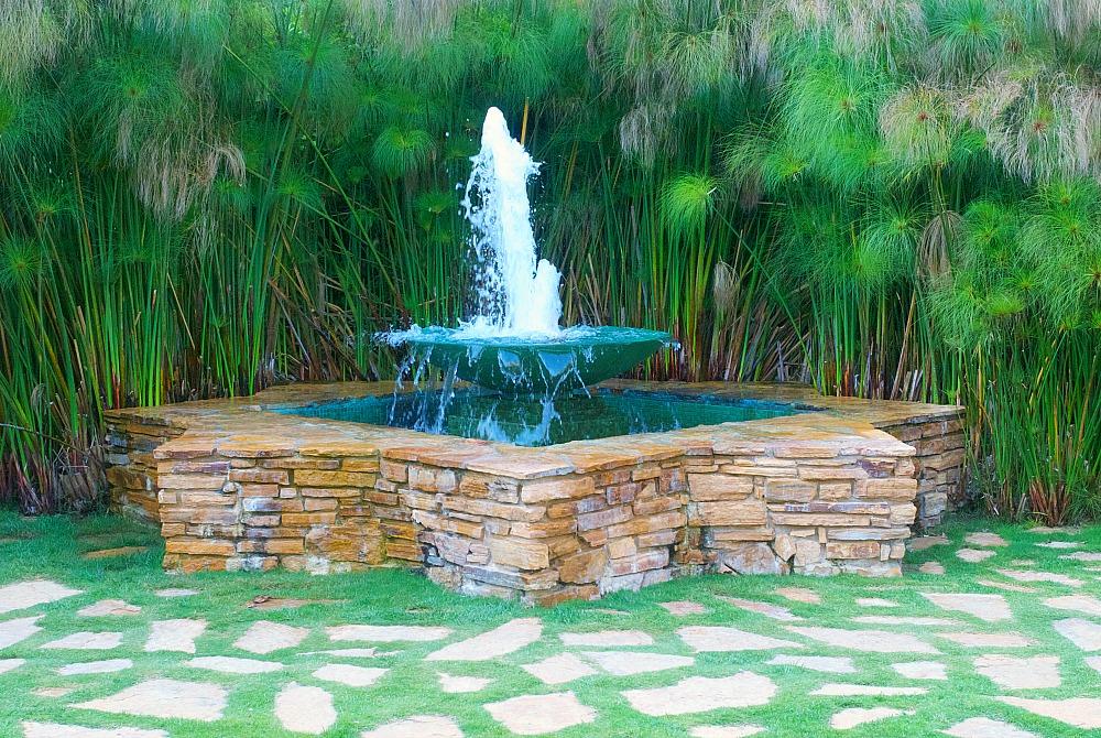 Estancia Hotel fountain