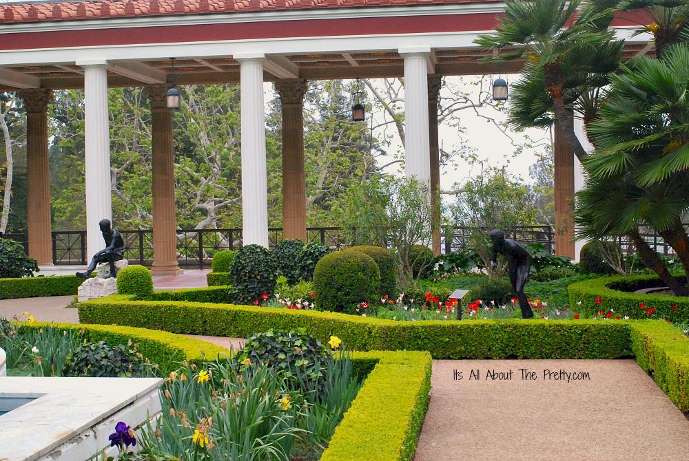 Getty Villa 2 statues