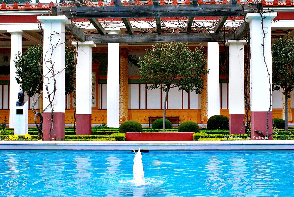 Getty Villa PoolArbor