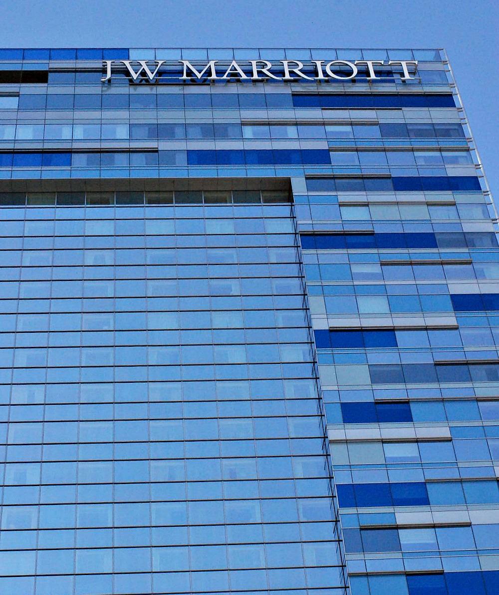 JW Marriott building LA Live