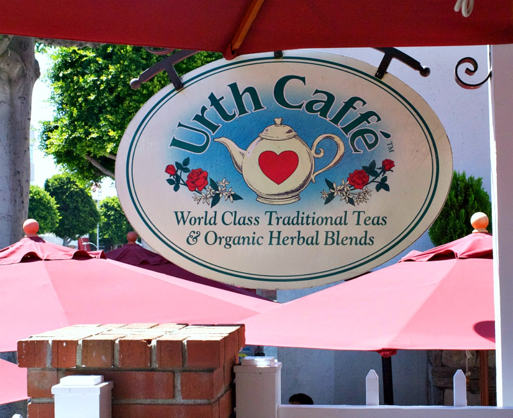 Urth Caffe Outside Sign