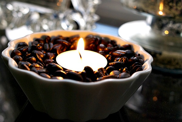 Coffee Bean Votive Flame