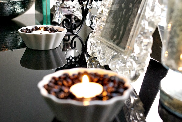 Coffee Votives two