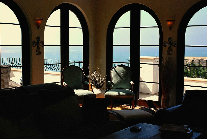 P&B family room view