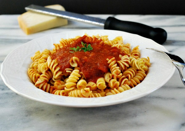 Spaghetti Sauce with Cheese
