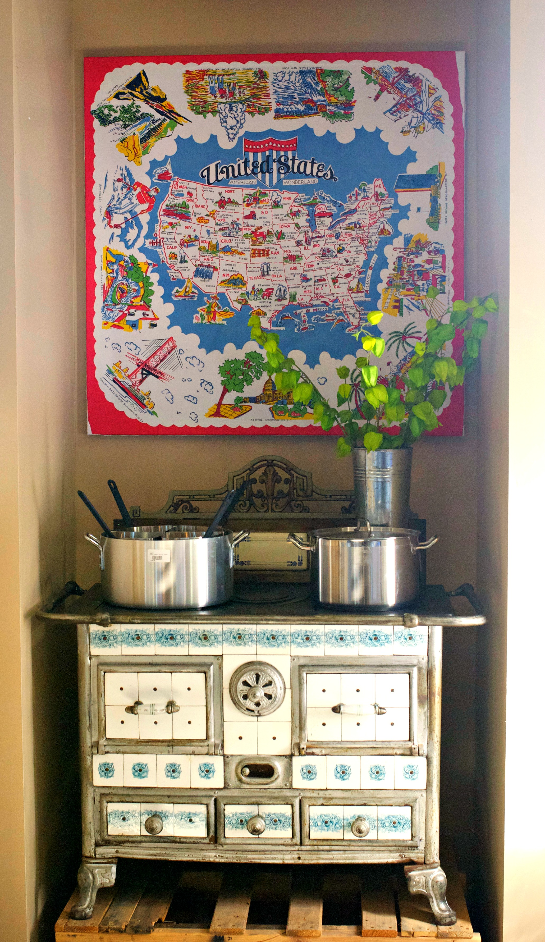 Surfas old stove