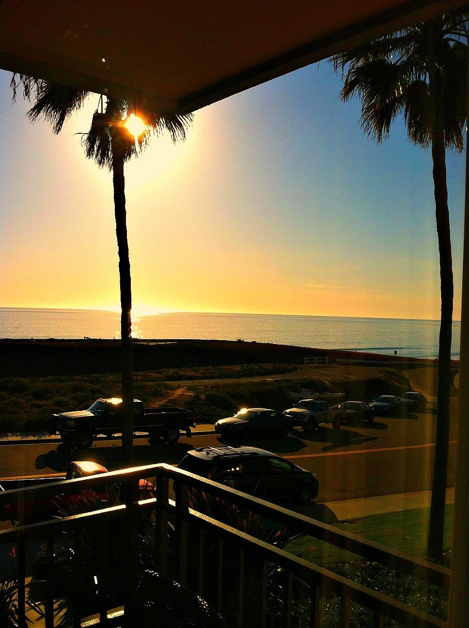 Carlsbad condo with ocean view