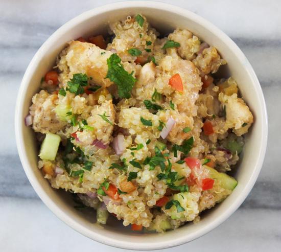 recipe for a delicious Quinoa Chicken Salad 4