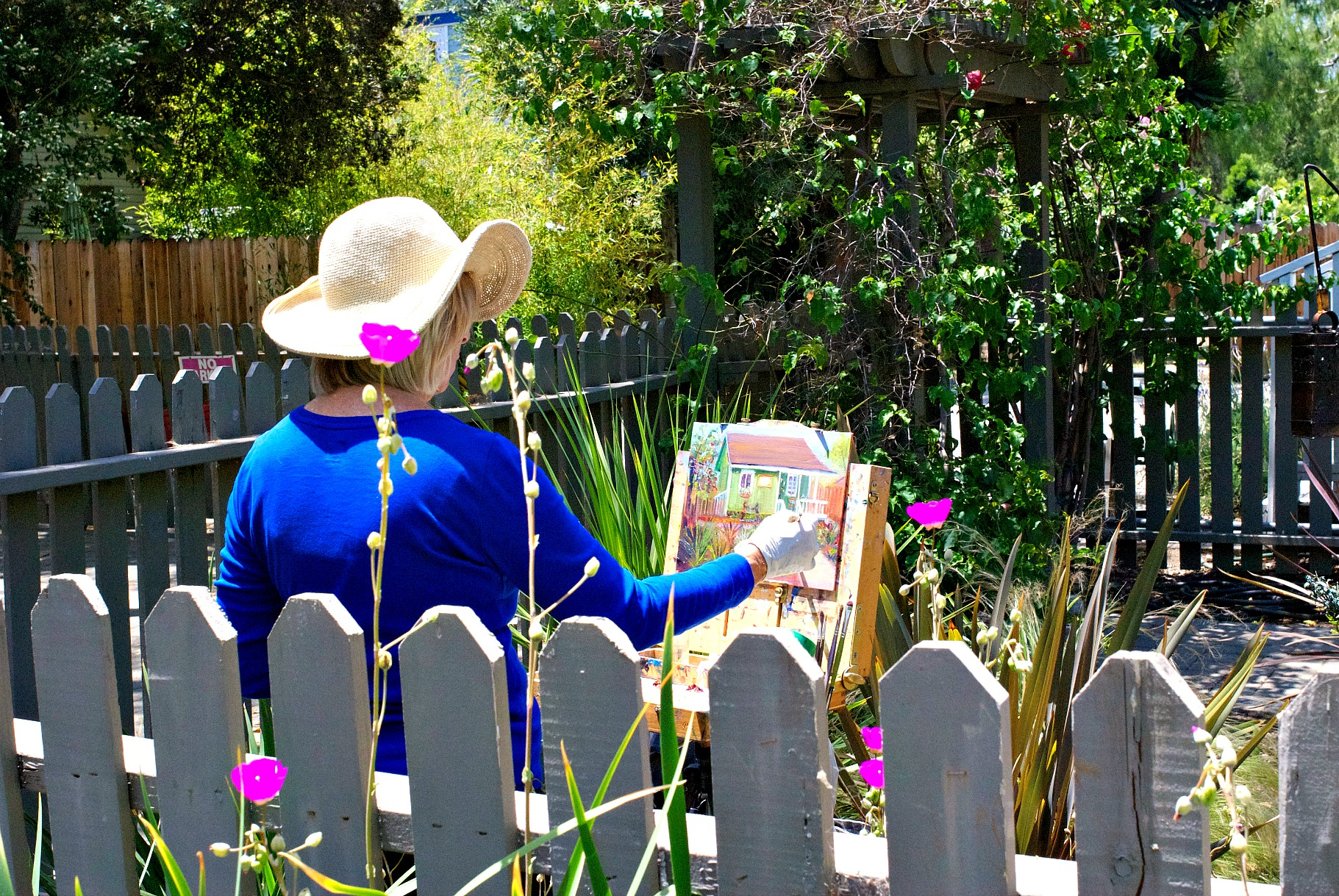 San Juan Capistrano Garden Tour House