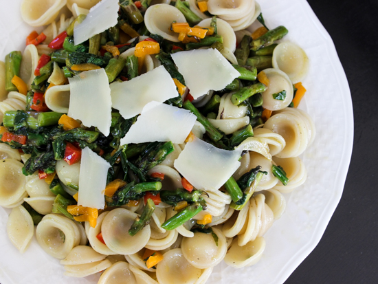 Summer Vegetable Orecchiette