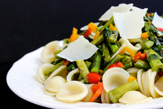 summertime Vegetable Orecchiette