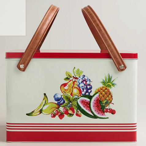 Picnic Essentials Metal Fruit Basket