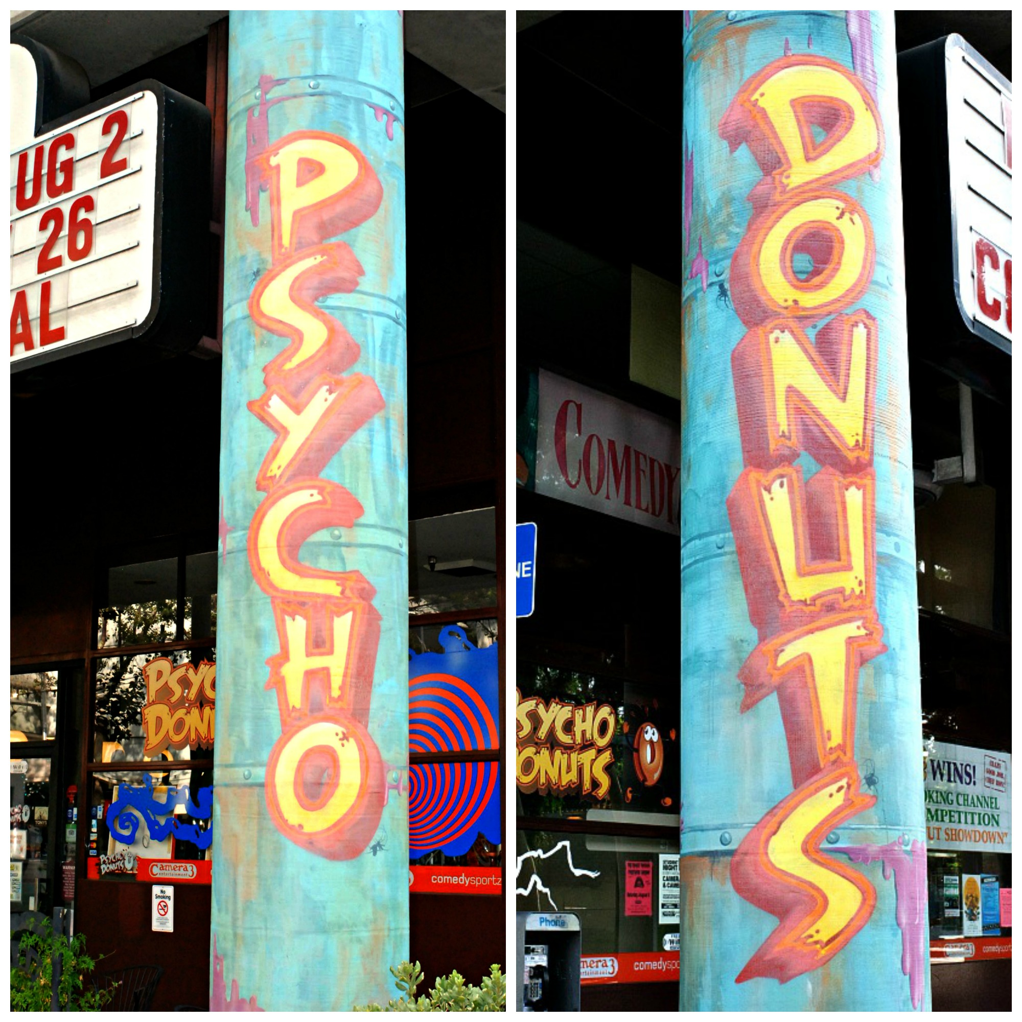 Psycho Donuts store front