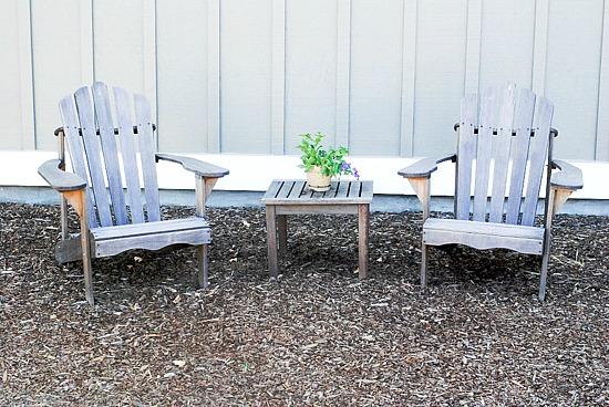 Corison Winery chairs