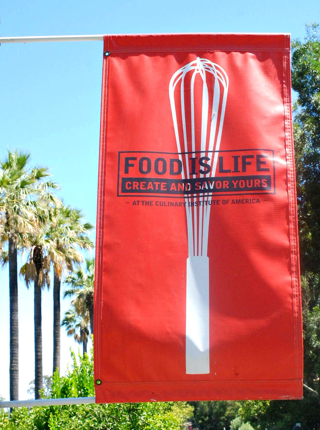 Culinary Institute of America food is life
