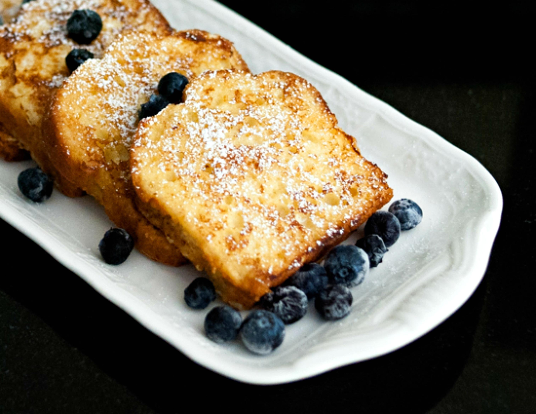 Pound Cake French Toast yummy goodness