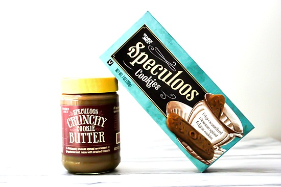 Speculoos Cookies and crunchy cookie butter