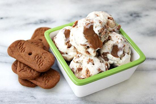 Speculoos cookie Ice Cream
