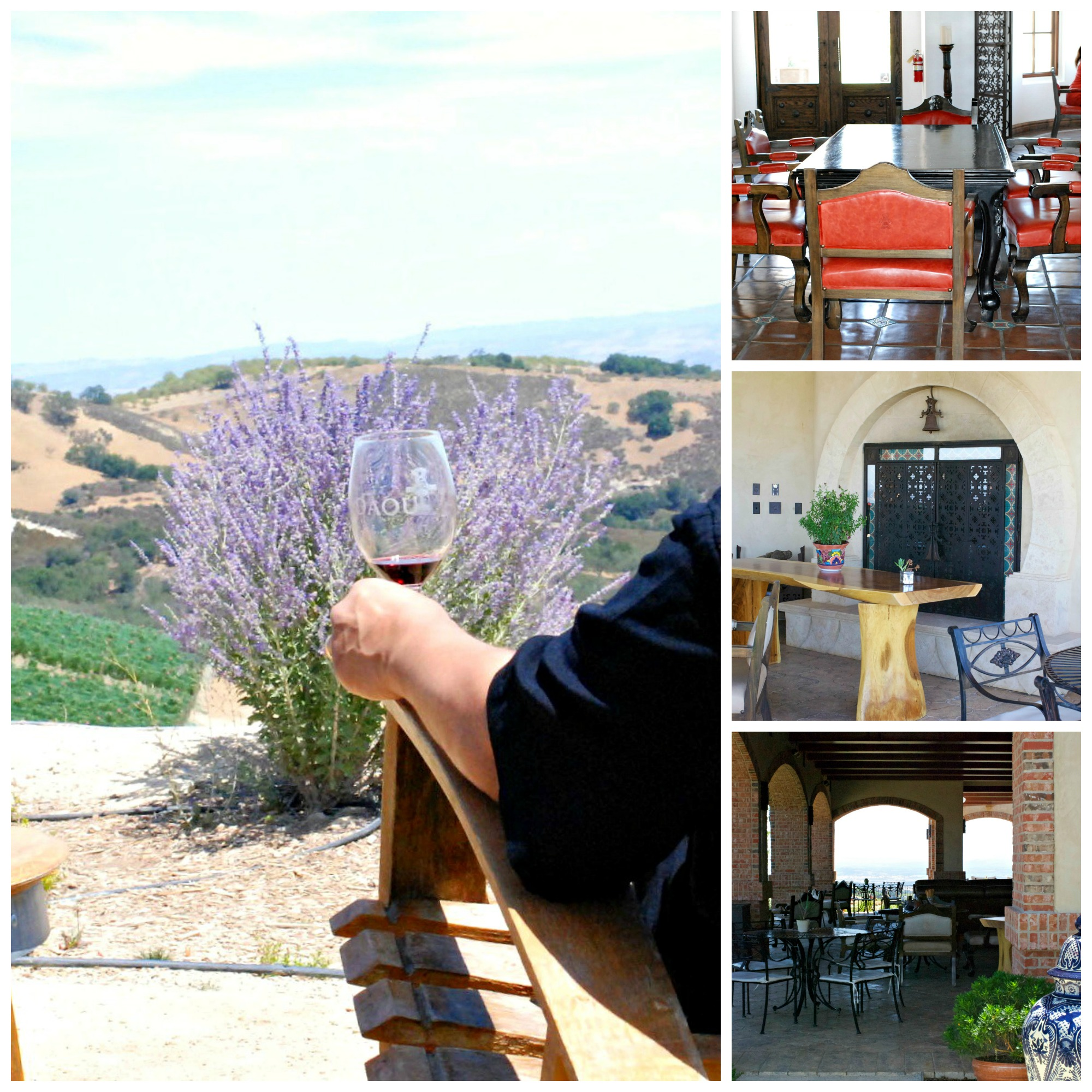 Daou Winery places to sit