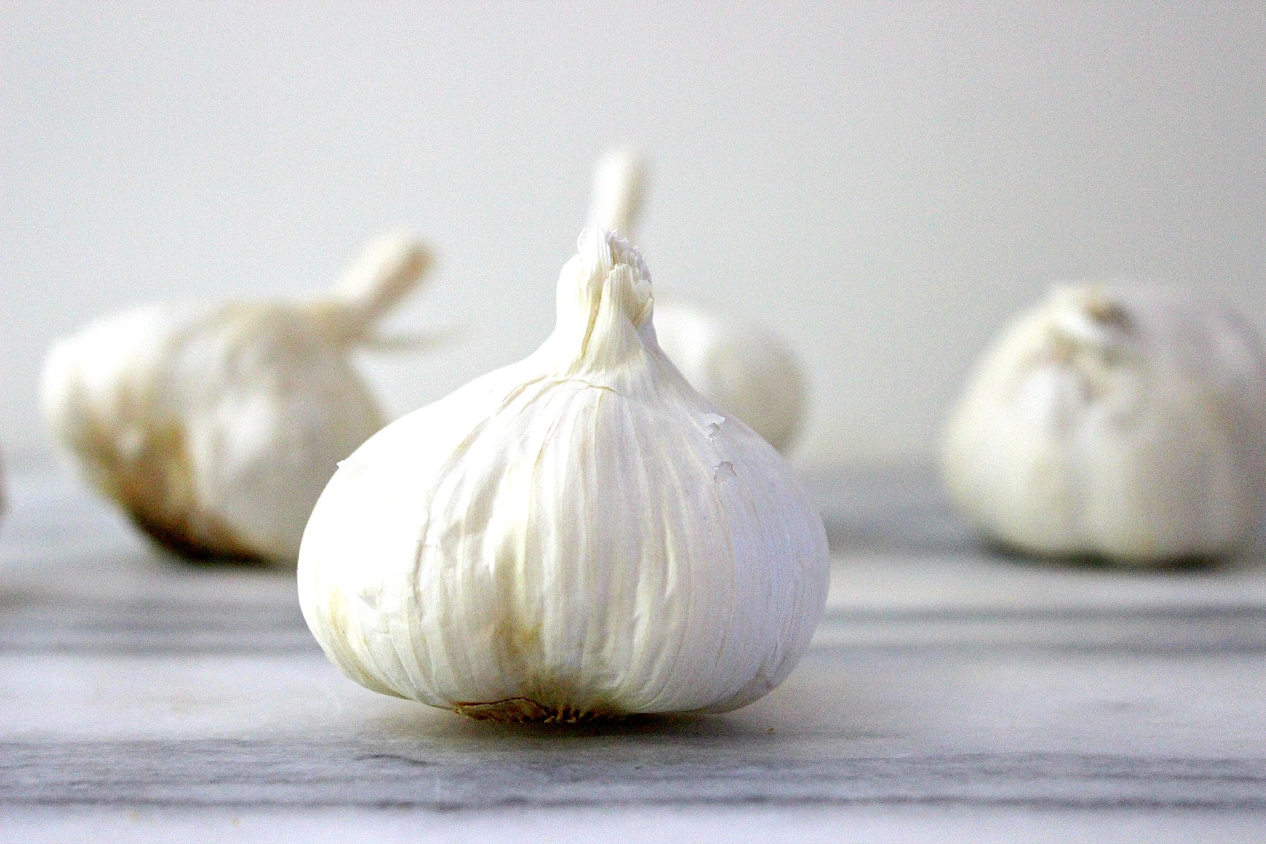 Roasted garlic clove