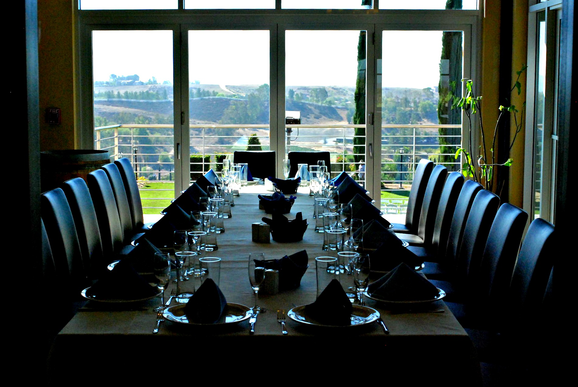 Callaway private dining room
