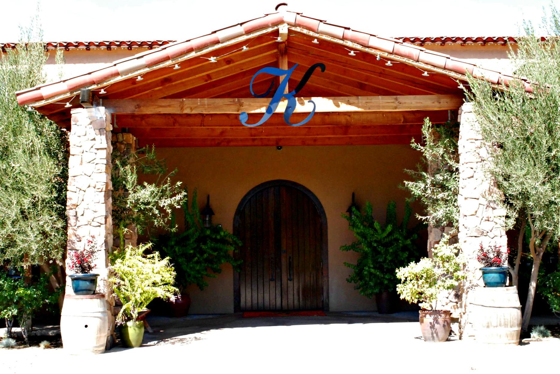 Keyways Winery Entrance