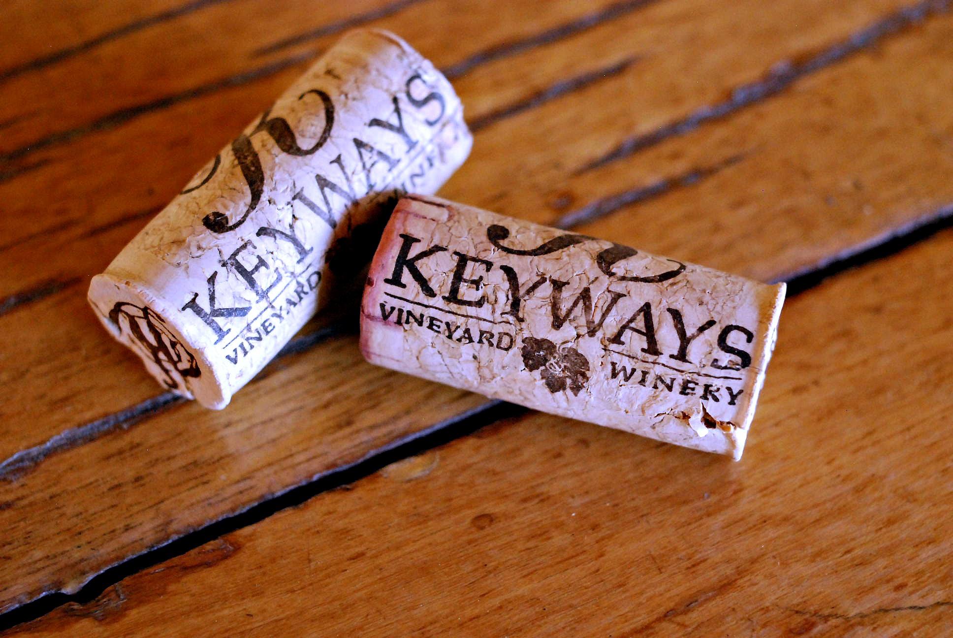 Keyways vineyard corks