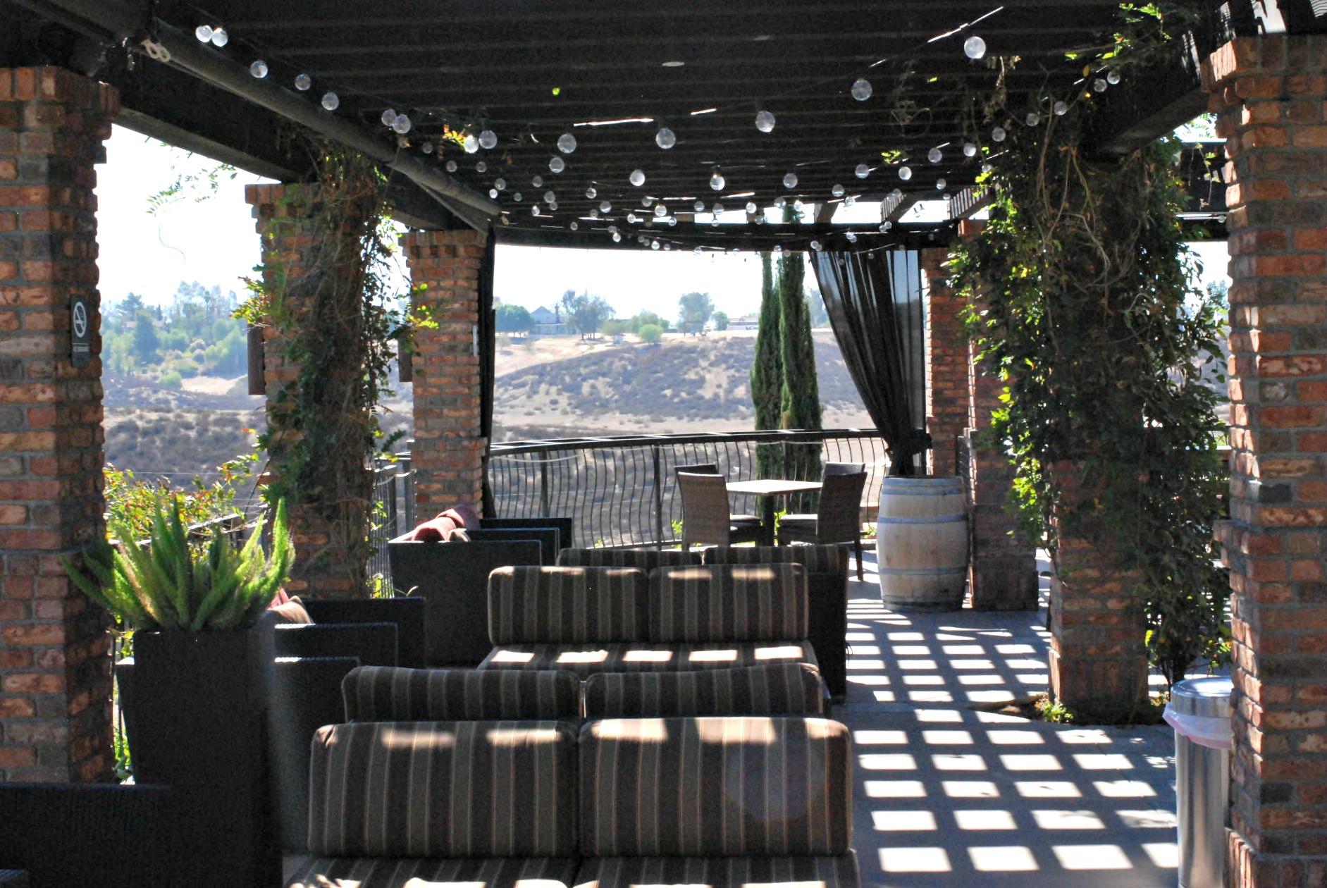 Miramonte outdoor seating area