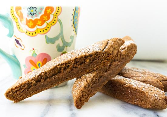 Nutella Espresso Biscotti 1