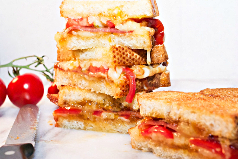Avalon Bay AirFryer grilled cheese sandwich