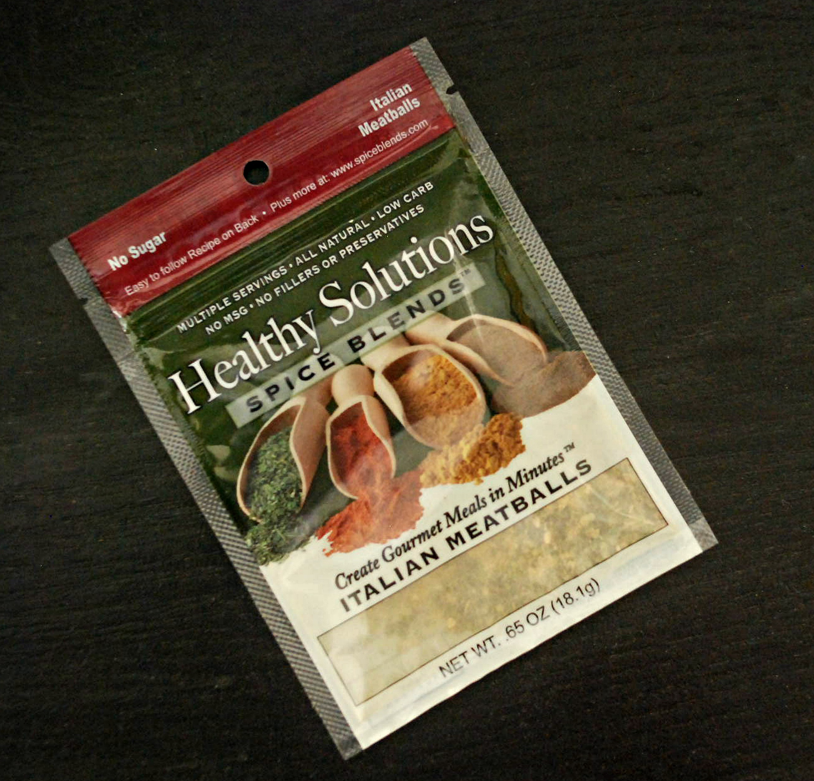 Meatball Italiano Healthy Solutions Spice Blends