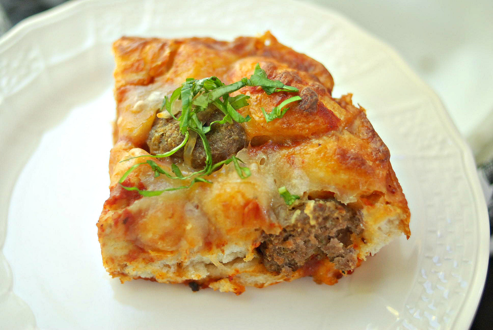 Meatball and Biscuit Bake