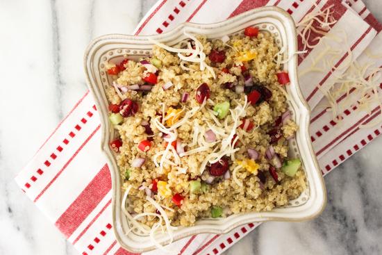 California Quinoa Salad, whole foods quinoa salad, quinoa,