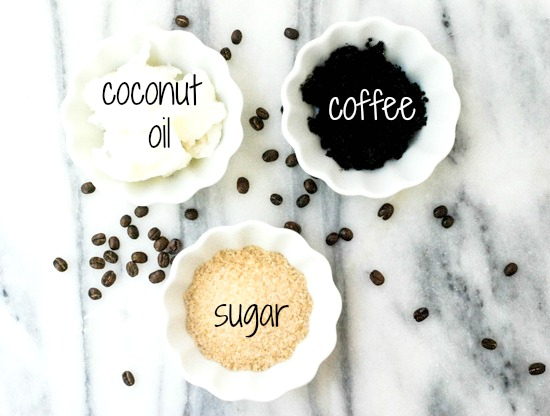 Homemade Coffee and Sugar Scrub