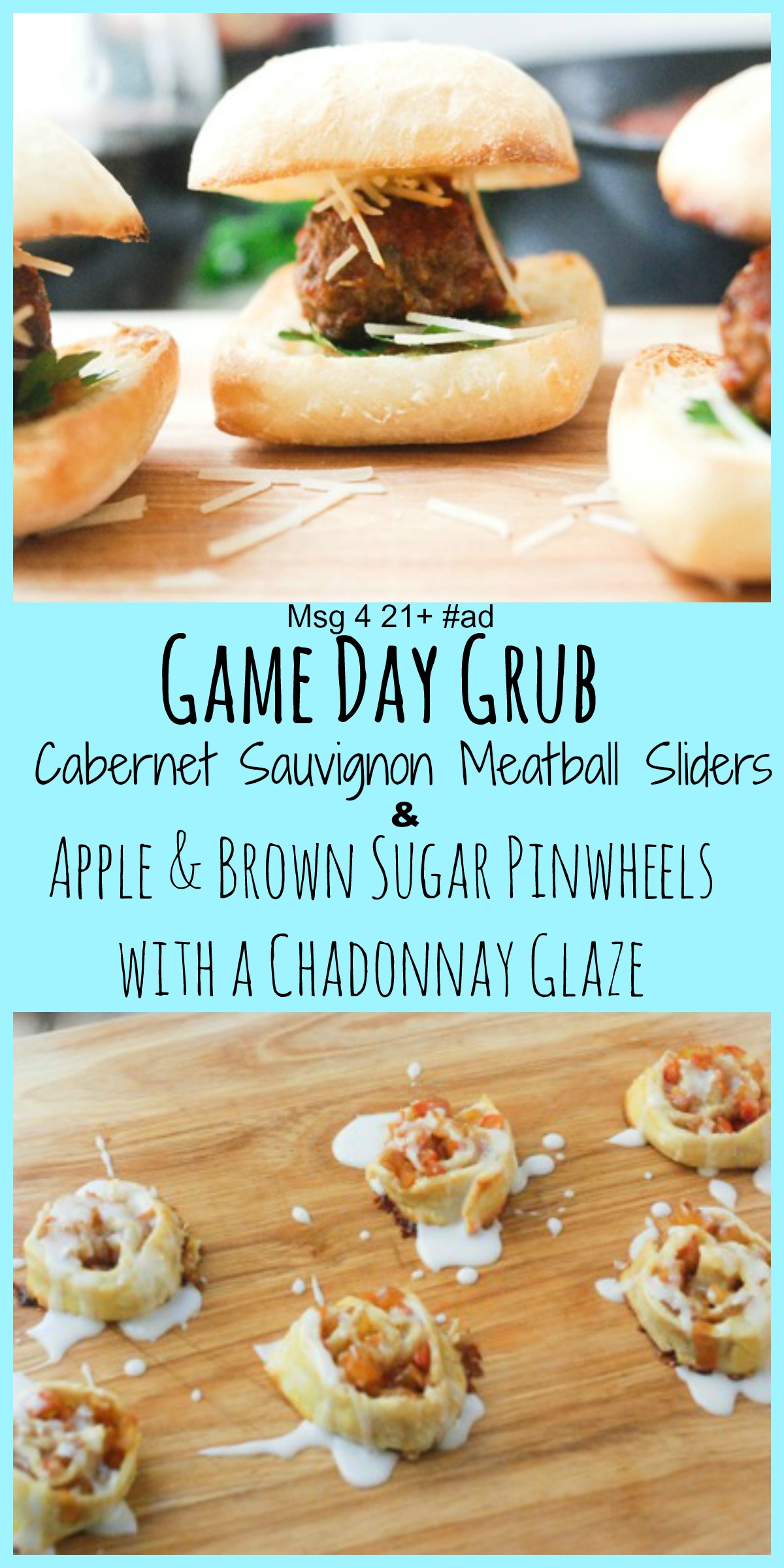 Football and Wine Pinterest
