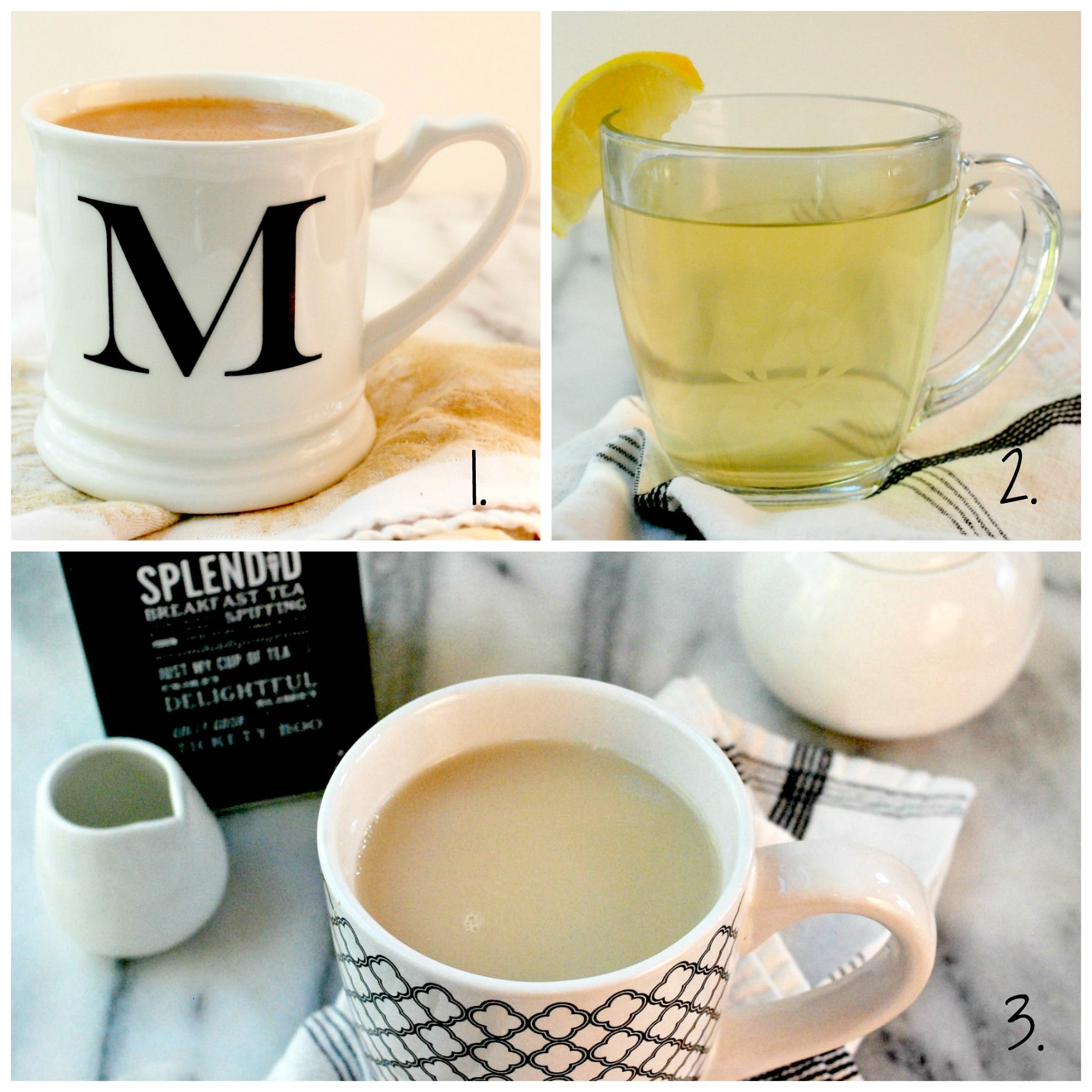 Lipton tea, Tetley Tea, Twinings Tea, Davids Tea, Tim Hortons Tea