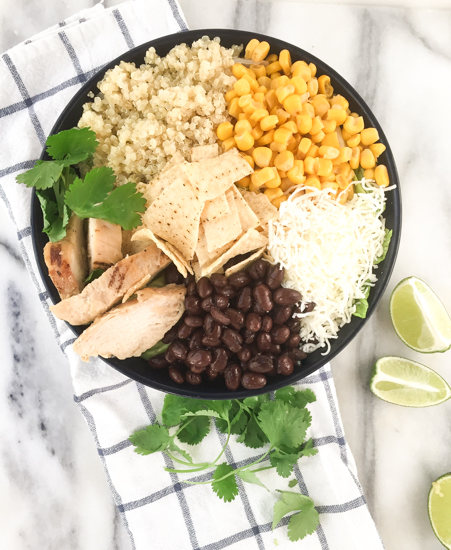 Easy Southwest Quinoa Bowl