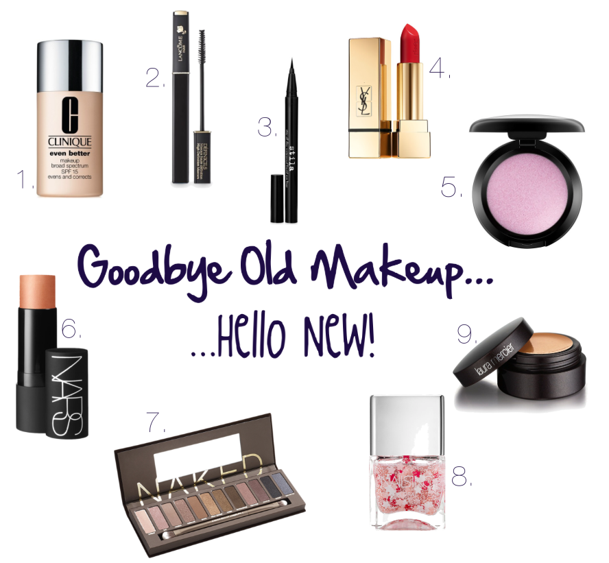 Goodbye Old Makeup
