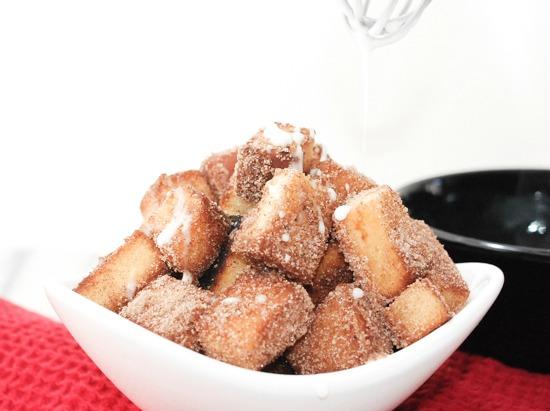 Pound Cake Churro Bites