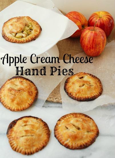 apple cream cheese hand pies