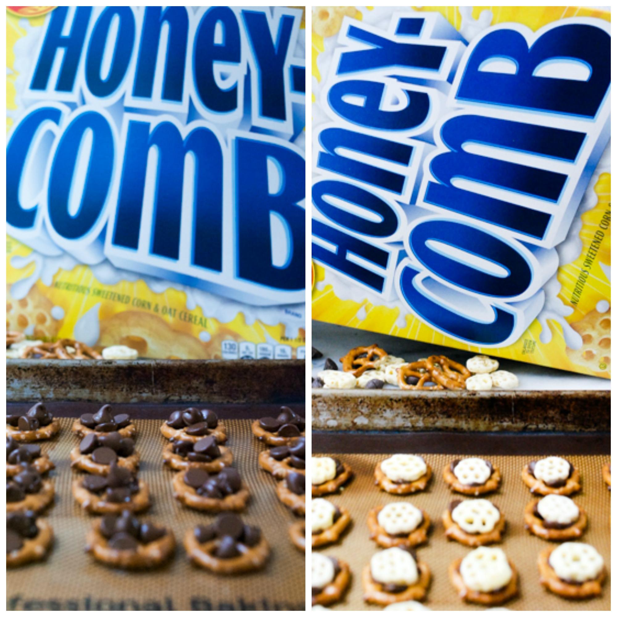 Honeycomb Pretzel Bites