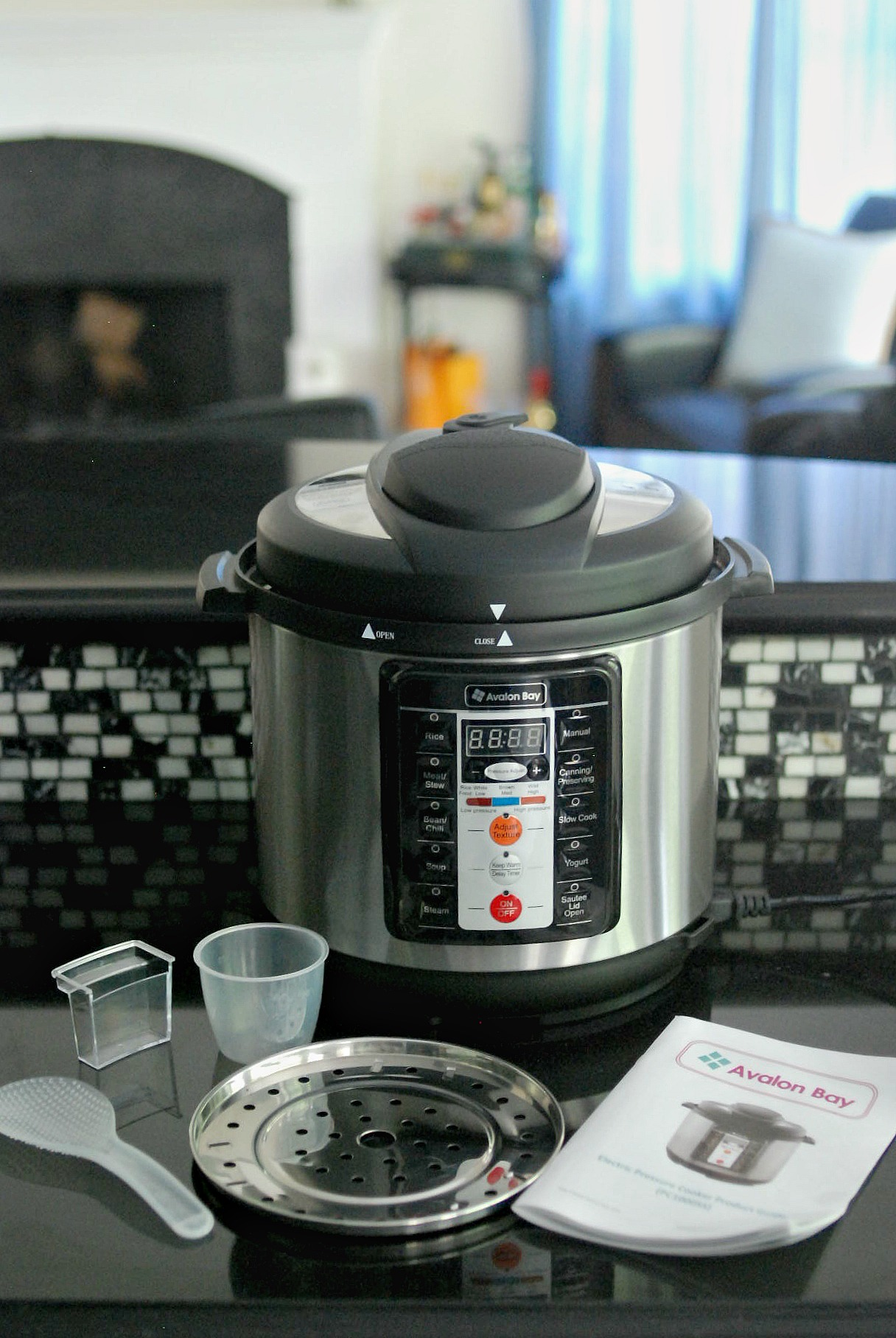 Cilantro Lime Rice in the pressure cooker