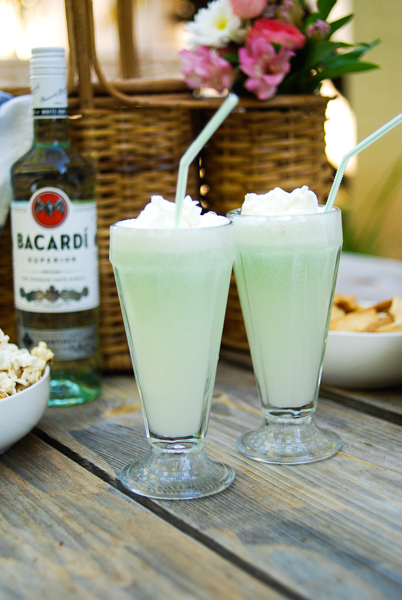 Get Your Drink On With A Lime Breeze