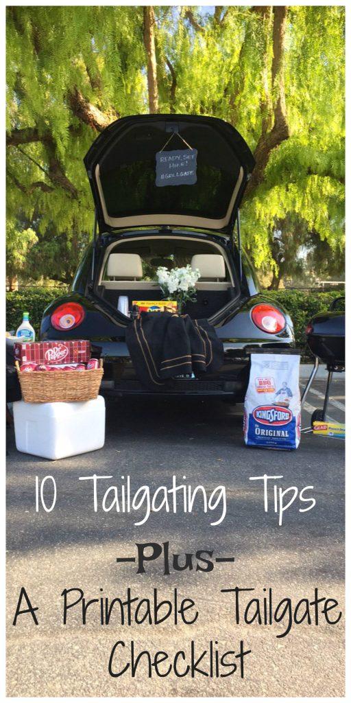 Ready, Set, Hike! 10 Tailgating Tips! #AD #grillgatinghero #grillgating