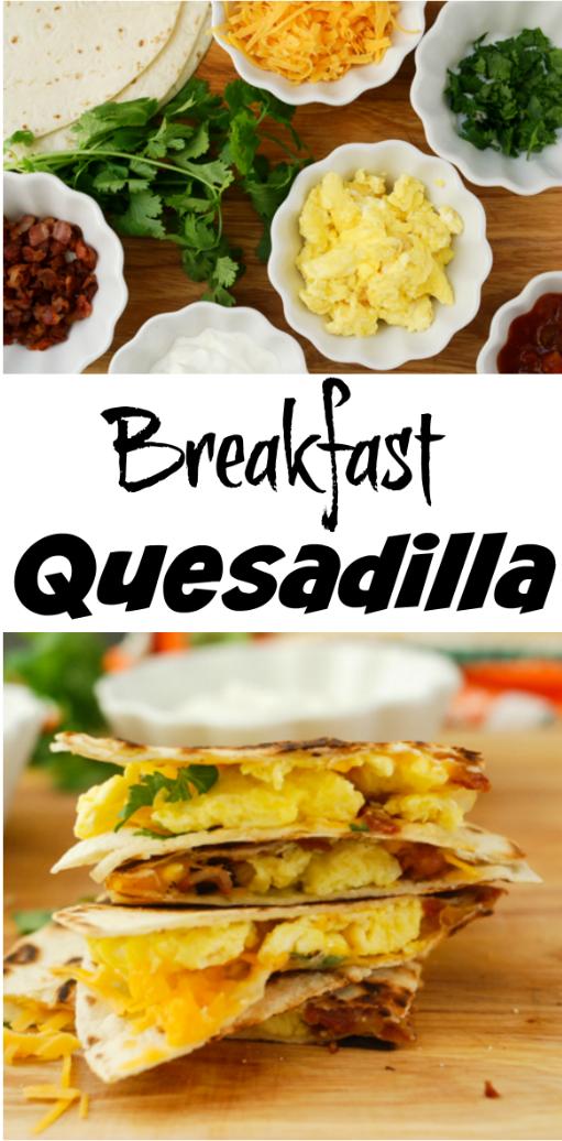 Breakfast Quesadilla #AD #SealsForGood