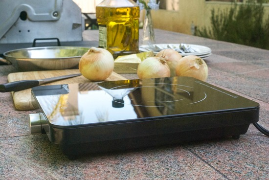 Cooking Outdoors With My Induction Cooktop