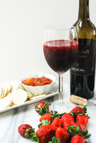 Msg 21+ #AD Strawberries and Wine