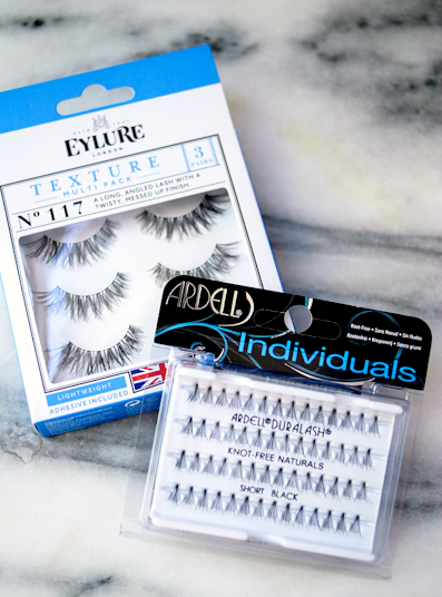 New pretty lashes and skincare favorites