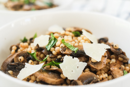 Mushroom and White Truffle Couscous
