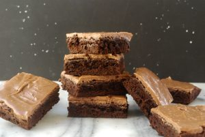 Make a double Batch Brownies